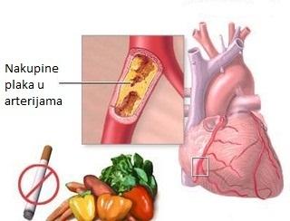 utjecaj pušenja na srce