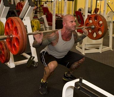 squat - vjezba za testosteron