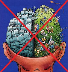 lijeva desna polutka mozga